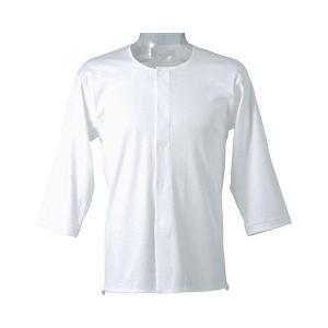 ワンタッチ 7分袖シャツ 紳士用 LL|heartcare
