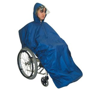 車椅子用  車いす レインコート カッパ 梅雨対策車いす用レインコート フレンド/ロイヤルブルー