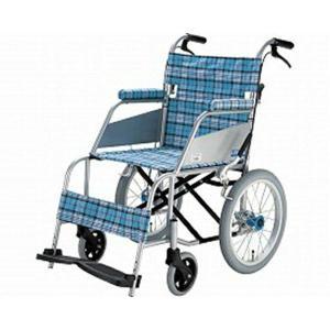 片山車椅子KARL(カール)介助式 KW-903B / 座幅40cm スカッシュ・ブルー|heartcare
