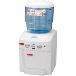 ツインウォーターサーバー 家庭用 卓上 ウォーターサーバー 整水器 飲料用サーバー 温冷両用 冷水 飲料用 温水 コーヒー 卓上型家庭用サーバー グッズ 人気 heartdrop