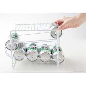 上にも置ける缶ストッカー キッチンラック 缶ビールストッカー 缶ジュースストッカー 缶ストッカー 350ml 缶 ストッカー 350ml缶 ストック 350ml缶ストッカー|heartdrop