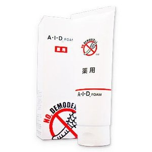 AIDフォーム 120g 洗顔フォーム 洗顔料 顔ダニ対策 AID A・I・D ニキビダニ 顔ダニ 対策 石鹸 ソープ 洗顔 フォーム A・I・Dフォーム グッズ おすすめ 人気|heartdrop