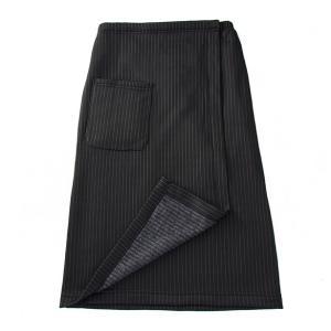 下半身冷えにスカートひと巻き ストライプ 冷え対策 保温グッズ 裏起毛スカート 裏起毛 巻きスカート 下半身 冷え性 下半身冷え 足冷え 足冷え対策 冷え性対策|heartdrop