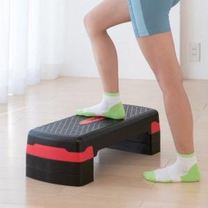 ステッププラススリー ステッパー 家庭用 運動 不足 解消 自宅 室内 健康 器具 運動器具 足踏み 健康器具 運動不足 ペダル運動 有酸素運動 ダイエット|heartdrop
