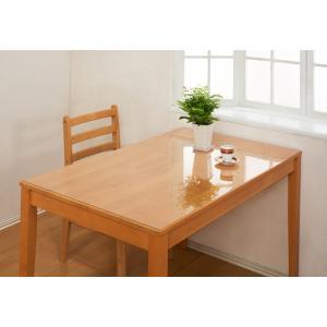 透明テーブルマット 特大サイズ 90×180cm テーブル保護マット テーブルクロス 汚れ防止 テーブルカバー テーブル 透明 カバー 傷 ガード キズ 汚れ 防止 グッズ|heartdrop