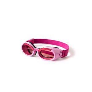 【限定クーポン】直送品 代引き不可 犬用ゴーグル ドグルズ(Doggles)ピンク heartdrop