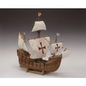 木製帆船模型 1/50 サンタマリア|heartdrop