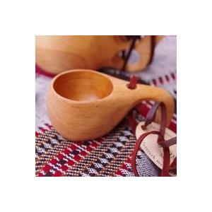 Kuksa ククサ S マグカップ コップ 北欧 出産祝い 木製マグカップ 木製カップ 木製コップ ...