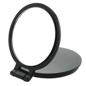 10倍拡大鏡付き 両面コンパクトミラー YL-10 手鏡 ハンドミラー メイク道具 八角ミラー 風水 拡大鏡 アイメイク 鏡 ミラー コンパクトミラー|heartdrop