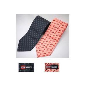 【トミカ ネクタイ2本セット】トミカのミニカーやタイヤなど、トミカの象徴的なモチーフをあしらった華や...