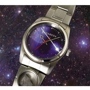 代引き不可 はやぶさ 帰還記念 隕石腕時計 プレゼント付 heartdrop