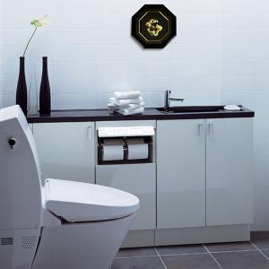 トイレに飾る 純金箔八角龍 開運 開運アート 風水 トイレ 運気アップ 運気を上げる 龍 八角 八角形 壁掛け 邪気 払い 浄化 邪気払い 金運 置物 財運 運気 アップ heartdrop
