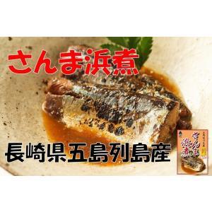 さんま サンマ 浜煮 ×1袋 長崎県五島列島産 産地直送 (...