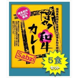 レトルト カレー カレー専門店 Sabzi(サブジ)   博多和牛 カレー:180g×5食 ポイント消化|heartfelt