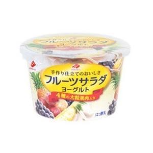 北海道乳業 フルーツサラダヨーグルト 130g×12個 「クール便でお届け」
