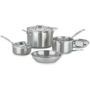 Cuisinart クイジナート ステンレス・クックウェアー4点セット MultiClad Proシリーズ|heartlandtrading