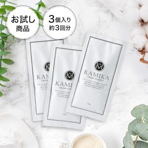 KAMIKA(カミカ) お試し サンプル3個セット オールインワンシャンプー 女性用 男性用 送料無料|heartlysupli
