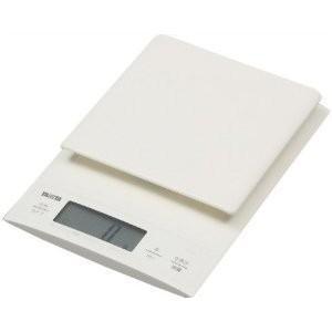 パン作りにも便利な0.1g単位の高精度 / 最大計量3kg  TANITA デジタルクッキングスケール ホワイト KD-320-WH|heartmark-shop