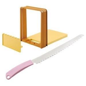 貝印 パン切りナイフ&ガイドセット AC-0059|heartmark-shop