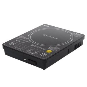IRIS/アイリスオーヤマ ガラストップ IHクッキングヒーター 音声ガイド機能付 ブラック EIH10V-B|heartmark-shop