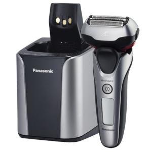 Panasonic/パナソニック ラムダッシュ メンズシェーバー 3枚刃 シルバー調 全自動洗浄充電器付き ES-LT8A-S|heartmark-shop