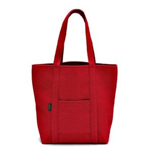 SASICCO 日本製  柔道着の生地を使用した三河木綿バッグ トート50 赤 正規品|heartmark-shop