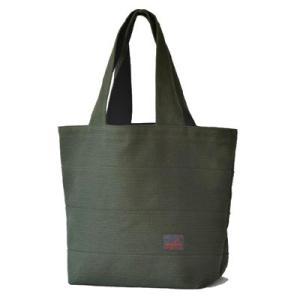 SASICCO 日本製  柔道着の生地を使用した三河木綿バッグ トート40 オリーブ 正規品|heartmark-shop