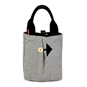 SASICCO 日本製  柔道着の生地を使用した三河木綿バッグ ポイントバッグ 消防刺し子 正規品|heartmark-shop