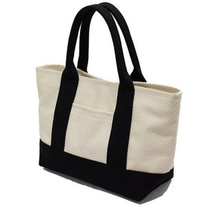 sasicco 日本製  柔道着の生地を使用した三河木綿バッグ OBIトートミニ 生成|heartmark-shop