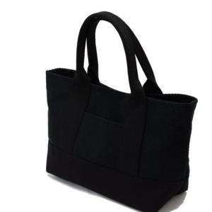sasicco 日本製  柔道着の生地を使用した三河木綿バッグ OBIトートミニ 黒|heartmark-shop