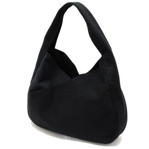 sasicco 日本製  柔道着の生地を使用した三河木綿バッグ コンテントバッグ 黒|heartmark-shop