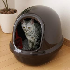 アイリスオーヤマ ネコのトイレ フルカバー くろ P-NE-500-F|heartmark-shop