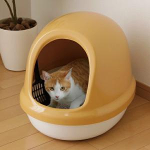 アイリスオーヤマ ネコのトイレ フルカバー 三毛 P-NE-500-F|heartmark-shop