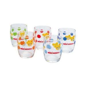 ミキハウス ミニグラス5客セット|heartmark-shop
