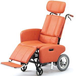 日進医療器 ティルト&フルリクライニング車いす NHR−7B介助式 フルリクライニング ティルト 多機能 車椅子 車イス heartpenguinshop