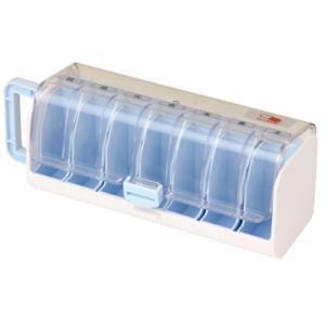 幸和製作所 テイコブ Myカルテ くすり整理キャリーケース HEC05薬ケース 薬箱 薬入れ 週間 薬 カレンダー 投薬管理 薬ボックス 介護用品|heartpenguinshop