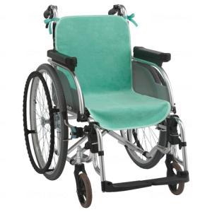 ケアメディックス 車椅子シートカバー(2枚入)車椅子用 クッション 車いす 介護 福祉 腰痛 heartpenguinshop
