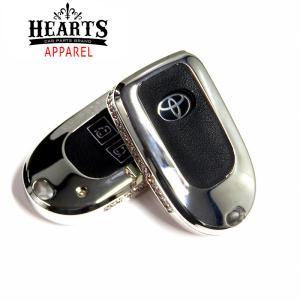 ジュエリースマートキーケース トヨタ ハイエース200系 4型〜現行 キーケース ジュエリー メタル hearts-hiace