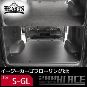 【受注生産】200系ハイエース バン ナロー(標準)S-GL フローリング (荷室のみ)床張りキット