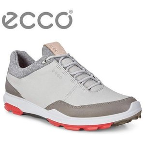 ecco(エコー)GOLF BIOM HYBRID3 Mens Golf GTX 155804 コンクリート/スカーレット 50943|heartstage