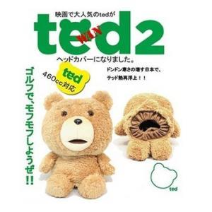ted テッド ヘッドカバー(ドライバー用)H-308/K-7145 460cc対応|heartstage