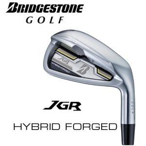 ブリヂストンゴルフ アイアン単品 JGR HYBRID FORGED(ハイブリッドフォージド) (#5、#6、PW2、AW、SW)  Air Speeder 「J」J16-12I カーボンシャフト|heartstage