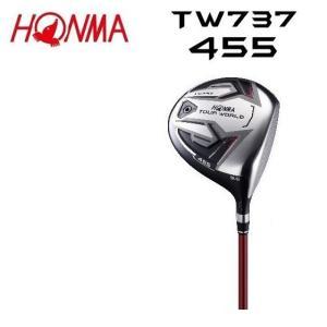 HONMA ホンマ TOUR WORLD TW737 455 ドライバー【イボミ限定シャフトカラー】|heartstage