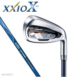 ダンロップ XXIO X(ゼクシオ10)アイアン 単品(#4、#5、AW、SW)【ネイビー】MP1000|heartstage