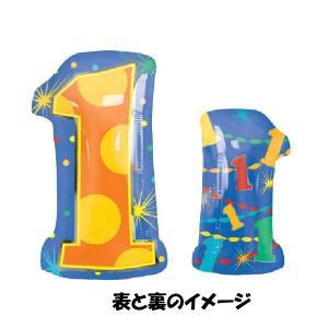 バルーン 誕生日 1歳 バルーン電報 バルーンギフト ファーストバースデー スマイルレインボー|heartwrap|02
