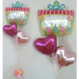 バルーン 誕生日 ヘリウム 浮く 安い バースデー 装飾 風船 送料無料|heartwrap