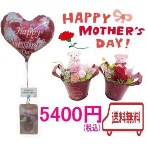 母の日 送料無料 プリザーブドフラワー ギフト バルーンフラワー プレゼント|heartwrap