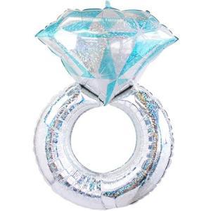 バルーン 結婚式 電報 結婚祝い ウェディングリング サプライズ 祝電 装飾 婚約祝 結婚式バルーン バルーンギフト|heartwrap