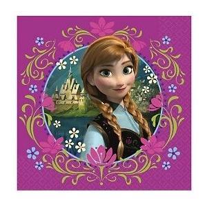 パーティーナプキン ディズニー アナと雪の女王 32cm 誕生日 パーティーグッズ デコレーション|heartwrap