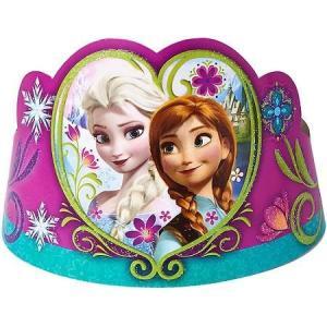 アナと雪の女王 ディズニー Frozen Tiaras ディアラ 8個入り 誕生日 デコレーション|heartwrap